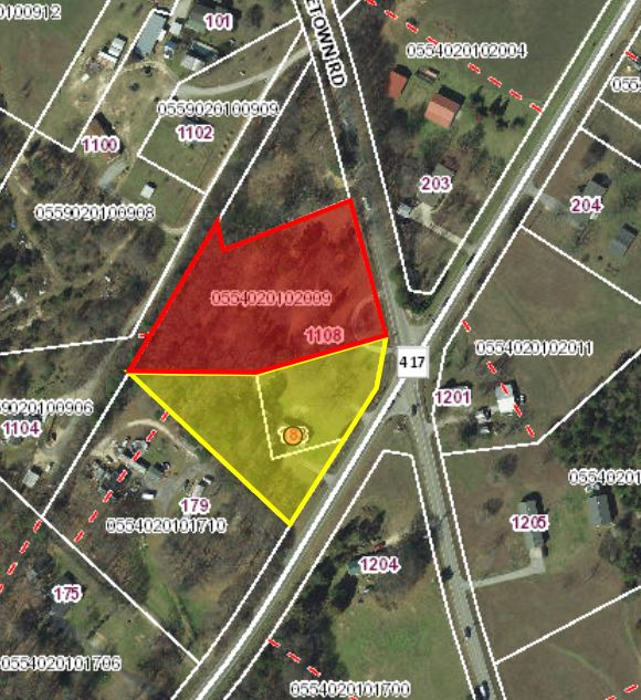 SOLD – 1.35 Acres of Commercial Land